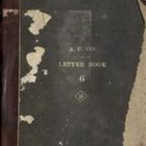 Book I Unalaska Letter Book (outgoing) 1895-97
