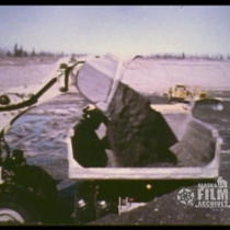 [1974 Chena flood dam construction]