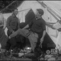 [Alaska 1925, Kenai River, Skilak Lake, bear hunt]