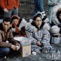 [1947 Nalukataq whale feast at Barrow]