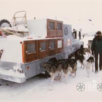 [1969 North American Sled Dog Championship Race - Fairbanks, Alaska]
